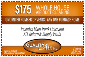 Whole House Air Duct Cleaning Coupon