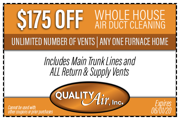 Whole House Duct Cleaning Coupon
