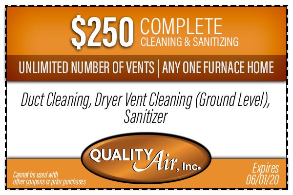 Cleaning Sanitizing Coupon