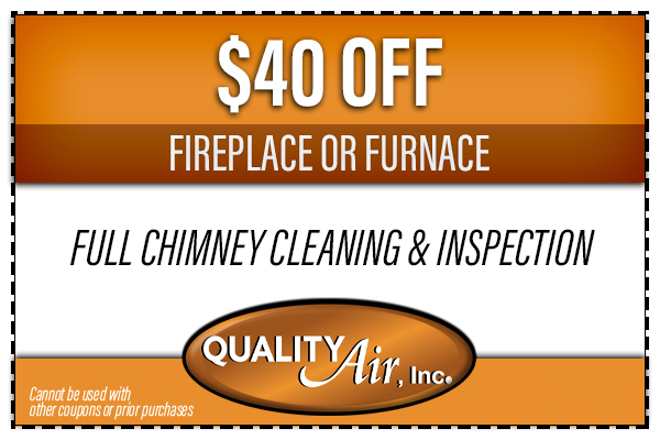 $40 OFF Chimney Cleaning Coupon